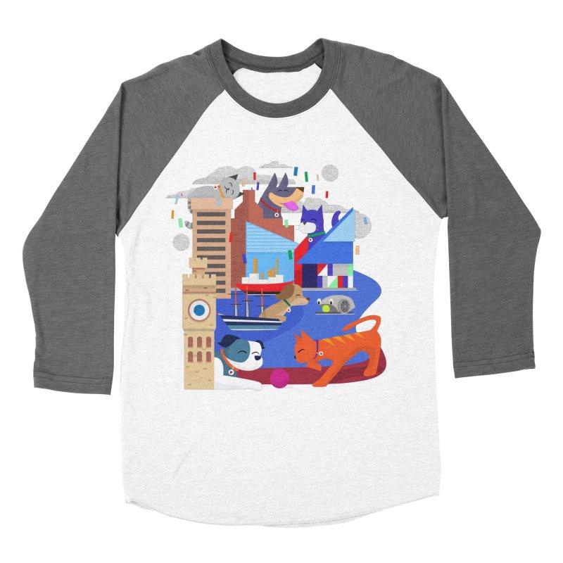 Pawtimore by Richard Kercz Women's Longsleeve T-Shirt by Maryland SPCA's Artist Shop