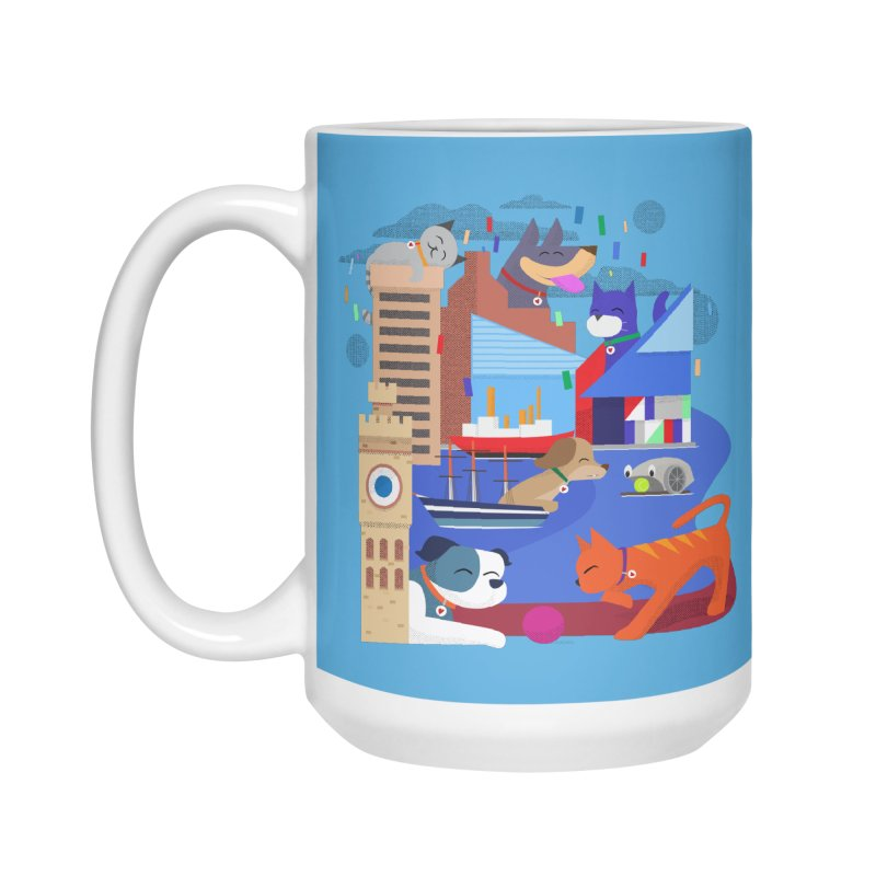 Pawtimore by Richard Kercz Accessories Mug by Maryland SPCA's Artist Shop