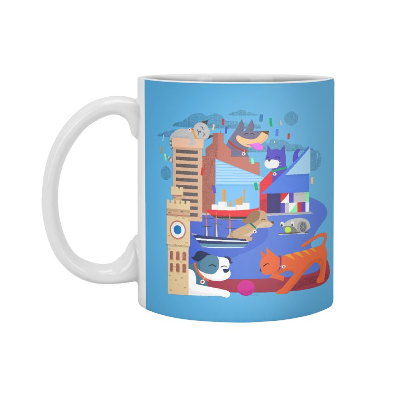 Pawtimore by Richard Kercz Accessories Standard Mug by Maryland SPCA's Artist Shop