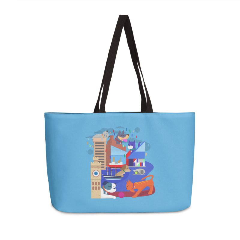Pawtimore by Richard Kercz Accessories Weekender Bag Bag by Maryland SPCA's Artist Shop