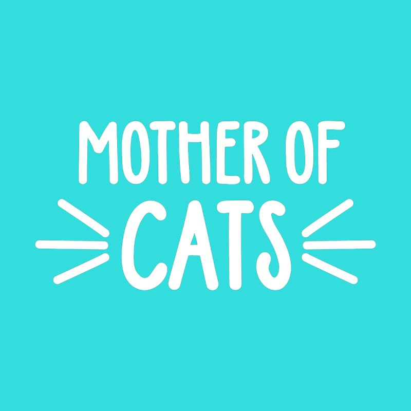 Mother of Cats Women's Scoop Neck by Maryland SPCA's Artist Shop