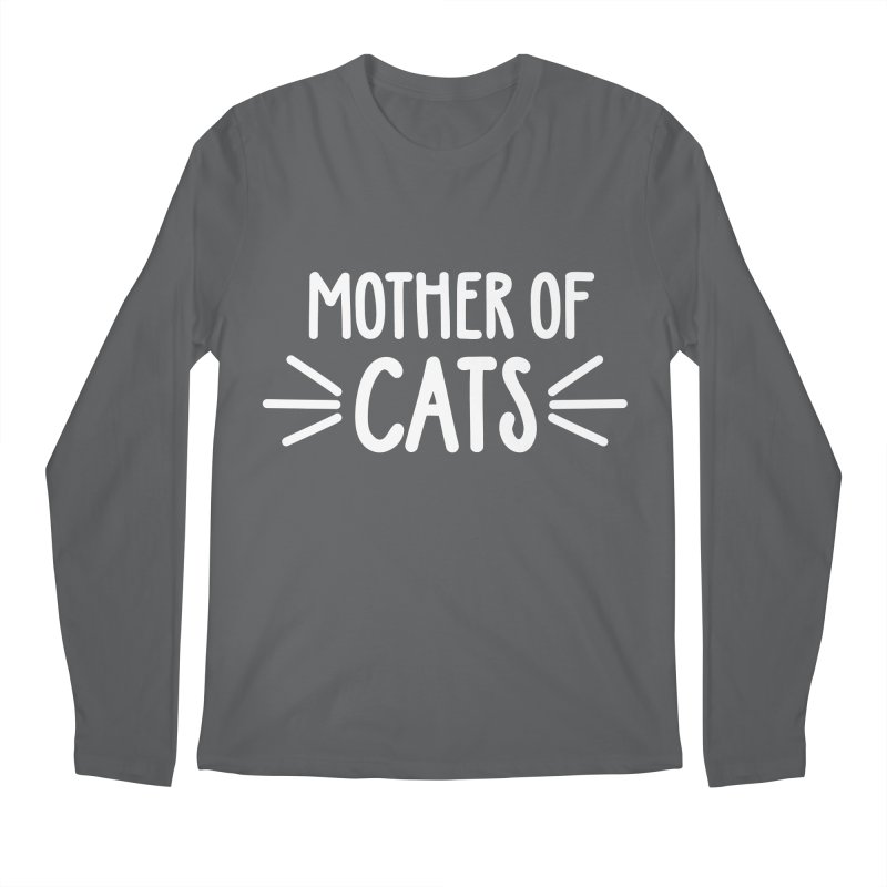 Mother of Cats Men's Longsleeve T-Shirt by Maryland SPCA's Artist Shop