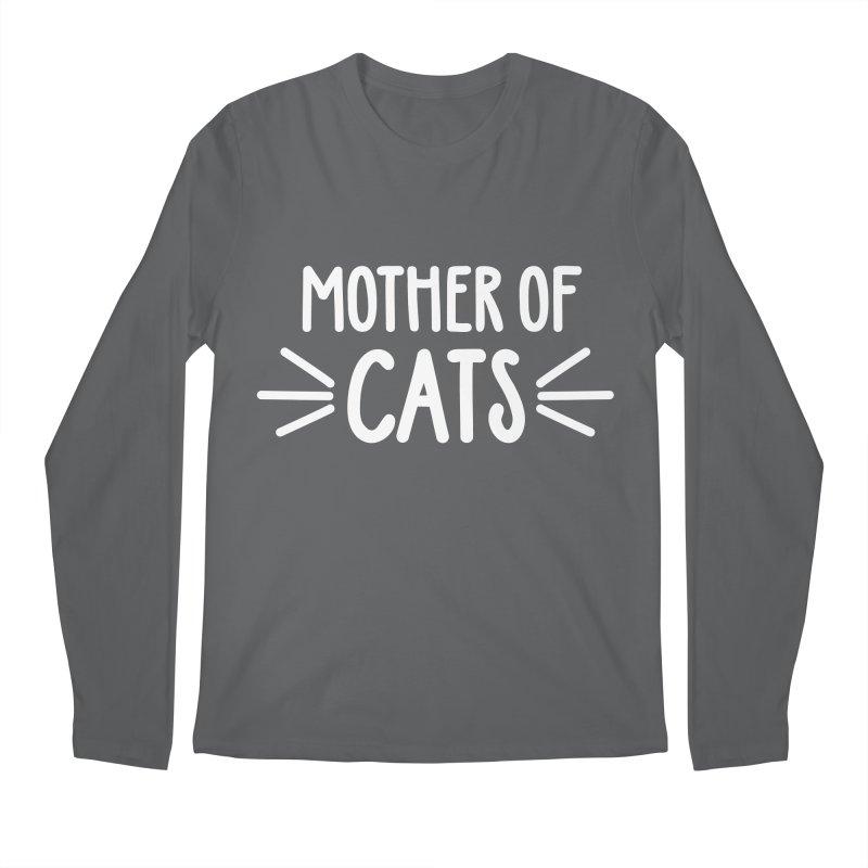 Mother of Cats Men's Regular Longsleeve T-Shirt by Maryland SPCA's Artist Shop