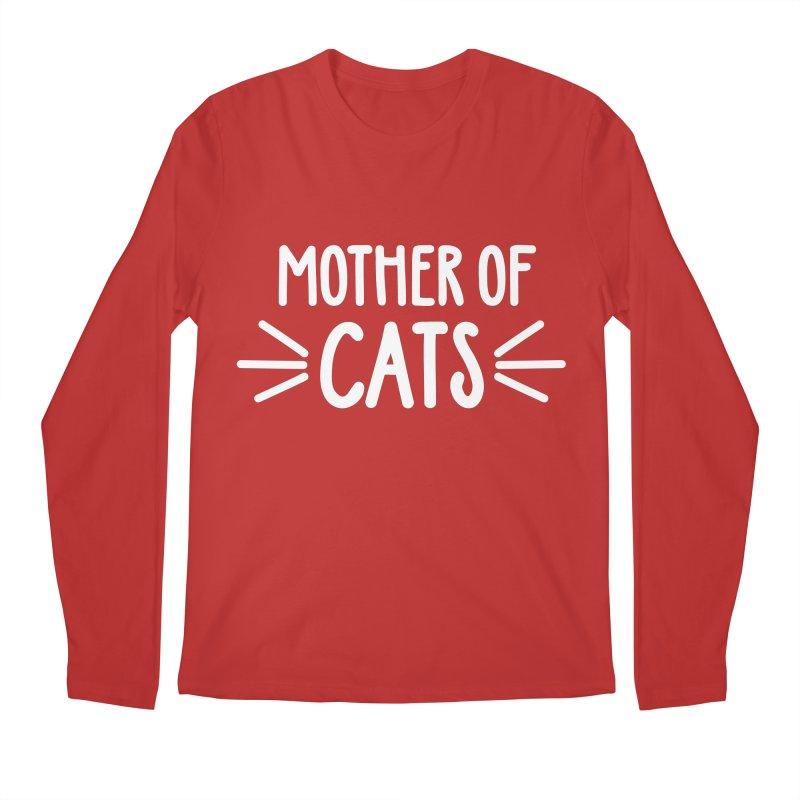 Mother of Cats Men's Regular Longsleeve T-Shirt by marylandspca's Artist Shop