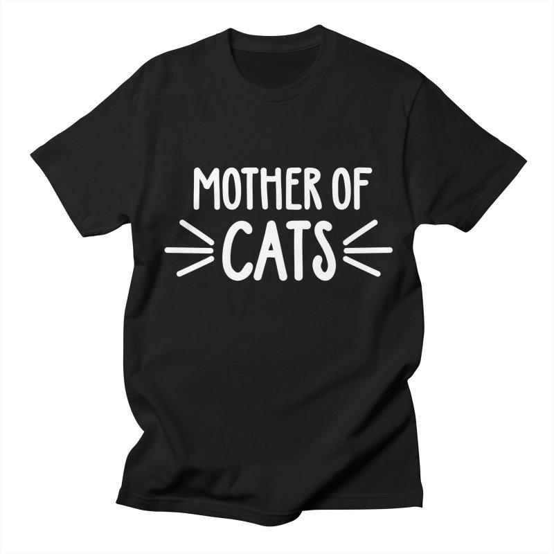 Mother of Cats Men's Regular T-Shirt by Maryland SPCA's Artist Shop