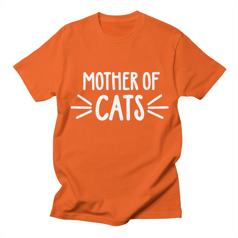 Mother of Cats Women's Regular Unisex T-Shirt by Maryland SPCA's Artist Shop