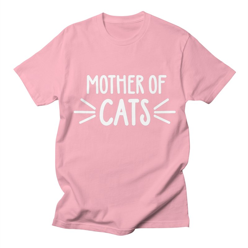Mother of Cats Women's Regular Unisex T-Shirt by Maryland SPCA's Artist Shop