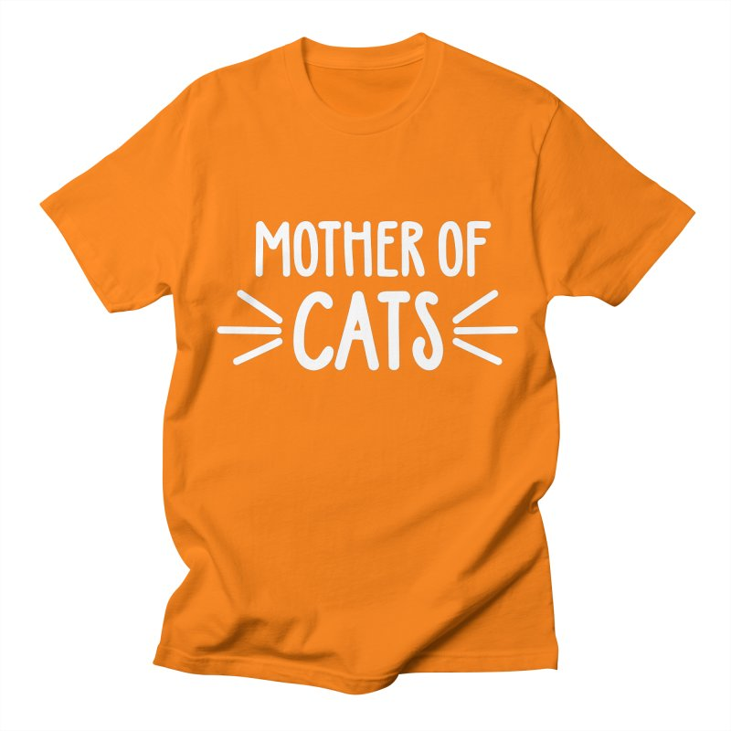 Mother of Cats Men's Regular T-Shirt by Maryland SPCA's Artist Shop
