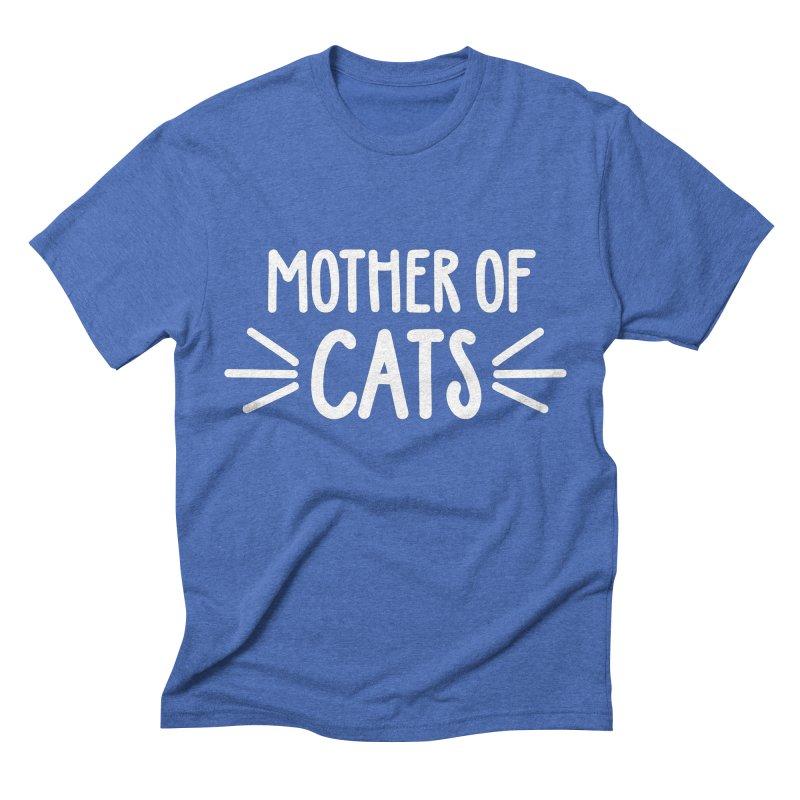 Mother of Cats Men's Triblend T-Shirt by marylandspca's Artist Shop