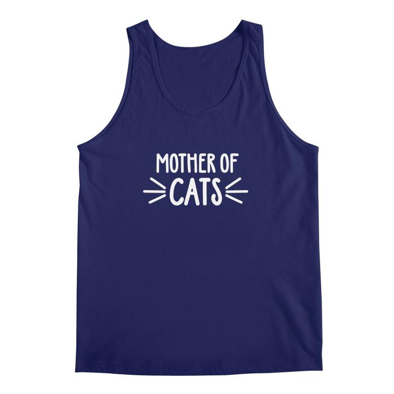 Mother of Cats Men's Regular Tank by Maryland SPCA's Artist Shop