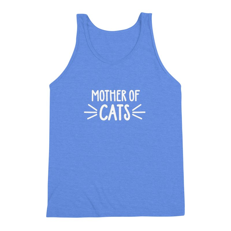 Mother of Cats Men's Triblend Tank by Maryland SPCA's Artist Shop