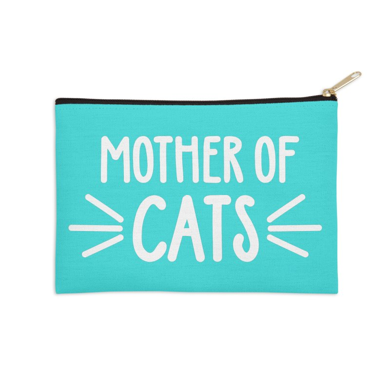 Mother of Cats Accessories Zip Pouch by Maryland SPCA's Artist Shop