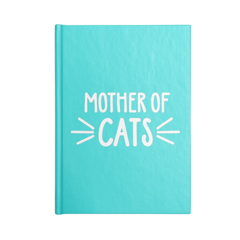 Mother of Cats Accessories Blank Journal Notebook by Maryland SPCA's Artist Shop