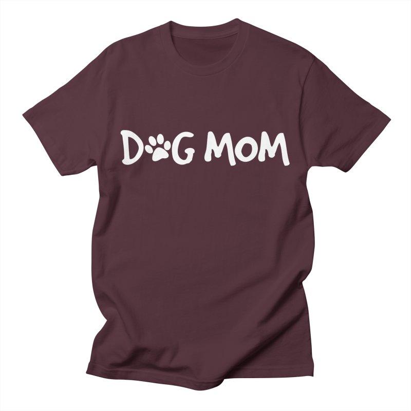 Dog Mom Men's T-Shirt by Maryland SPCA's Artist Shop