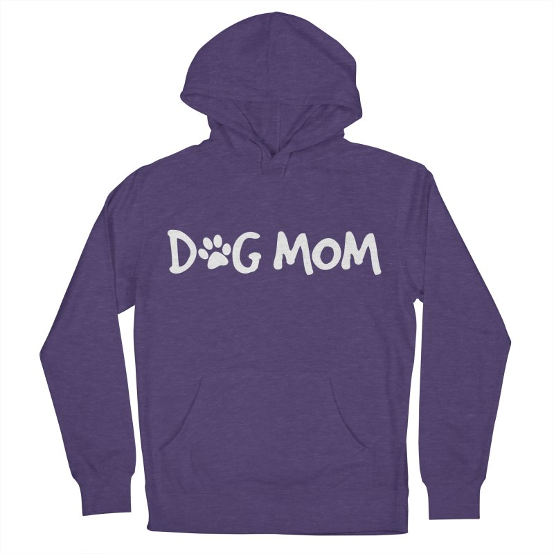 Dog Mom Men's French Terry Pullover Hoody by Maryland SPCA's Artist Shop