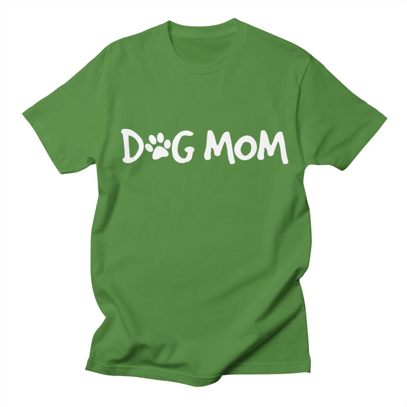 Dog Mom Women's Regular Unisex T-Shirt by Maryland SPCA's Artist Shop