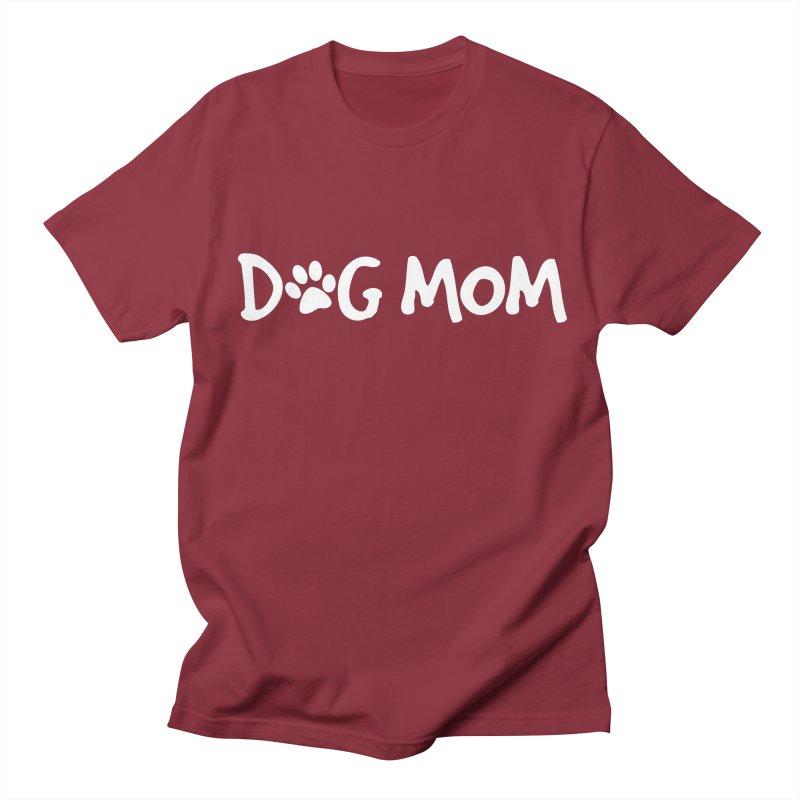 Dog Mom Women's Regular Unisex T-Shirt by Maryland SPCA's Artist Shop