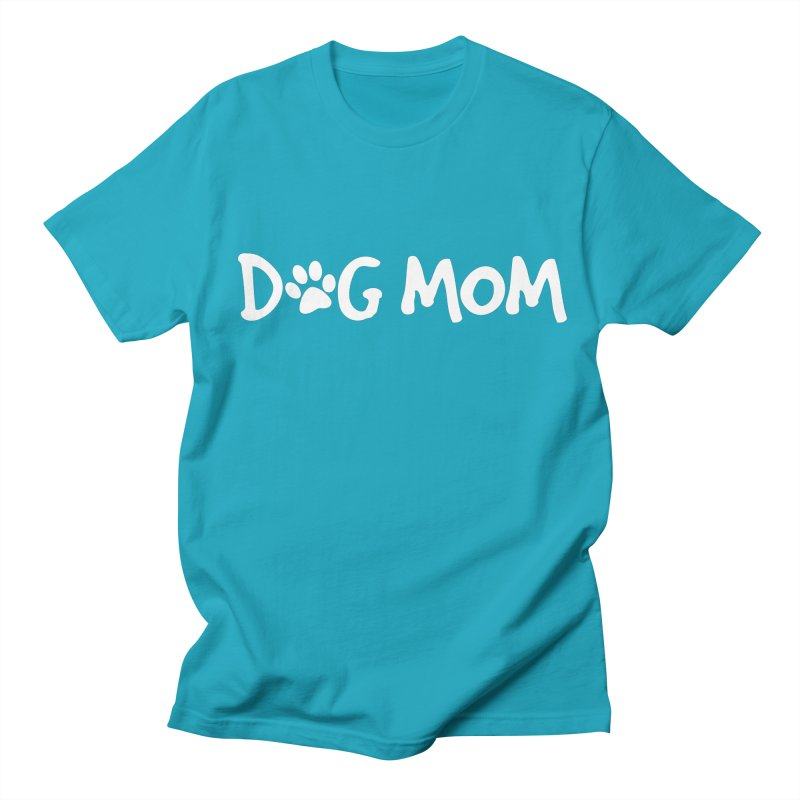 Dog Mom Men's Regular T-Shirt by Maryland SPCA's Artist Shop