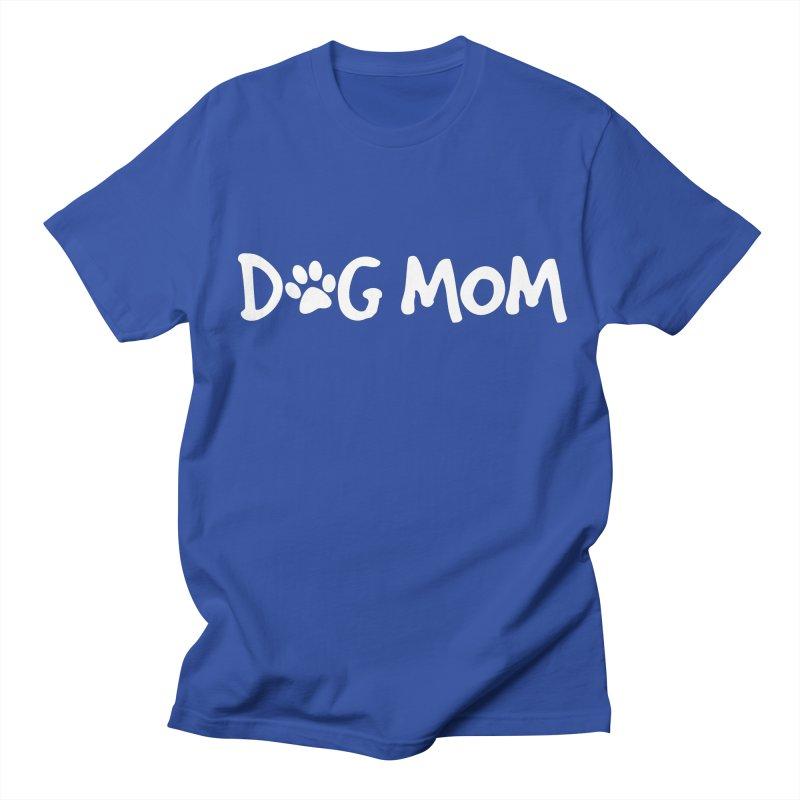 Dog Mom Men's Regular T-Shirt by Maryland SPCA's Artist Shop