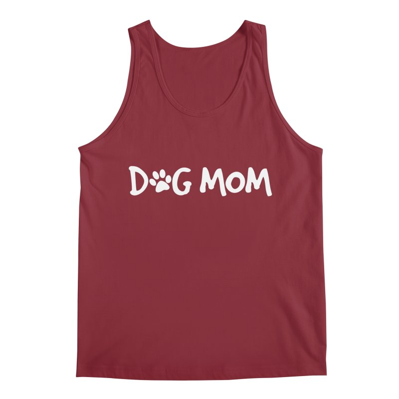 Dog Mom Men's Tank by Maryland SPCA's Artist Shop