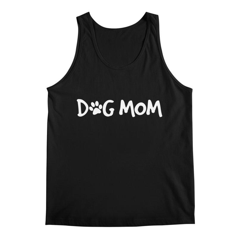 Dog Mom Men's Regular Tank by Maryland SPCA's Artist Shop