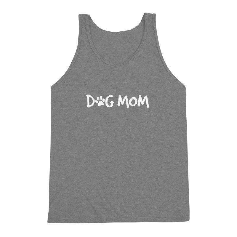 Dog Mom Men's Triblend Tank by Maryland SPCA's Artist Shop
