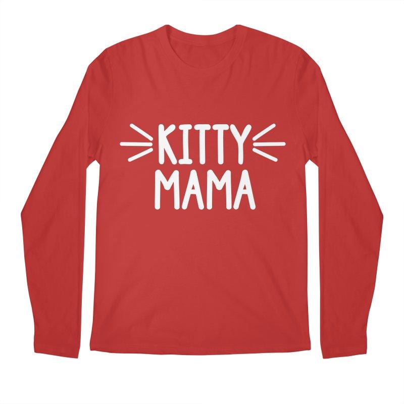 Kitty Mama Men's Regular Longsleeve T-Shirt by marylandspca's Artist Shop