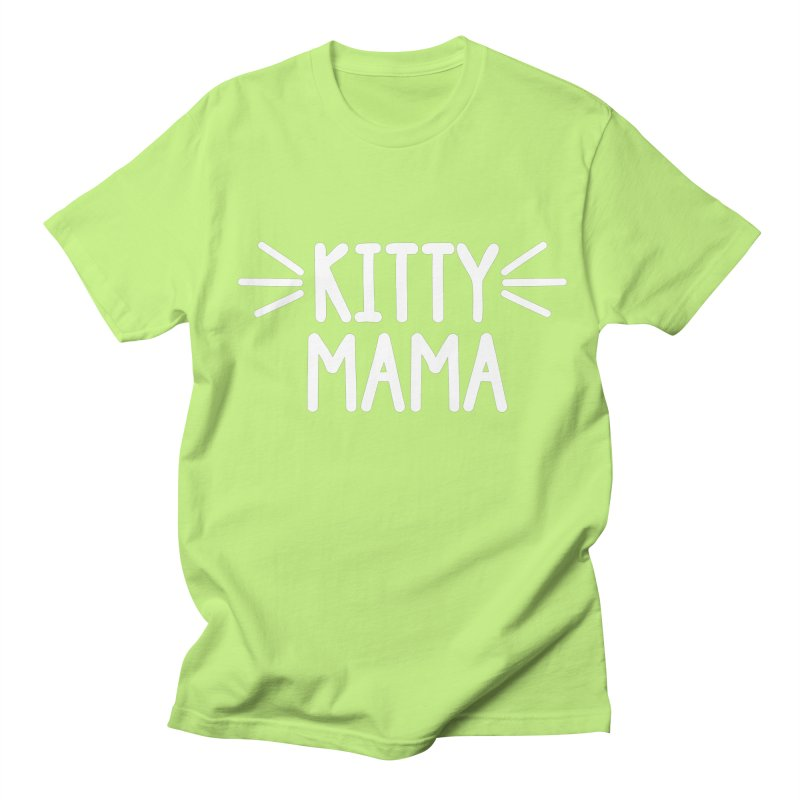 Kitty Mama Women's Regular Unisex T-Shirt by Maryland SPCA's Artist Shop