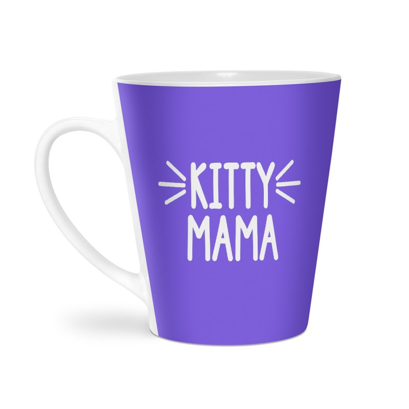 Kitty Mama Accessories Latte Mug by Maryland SPCA's Artist Shop