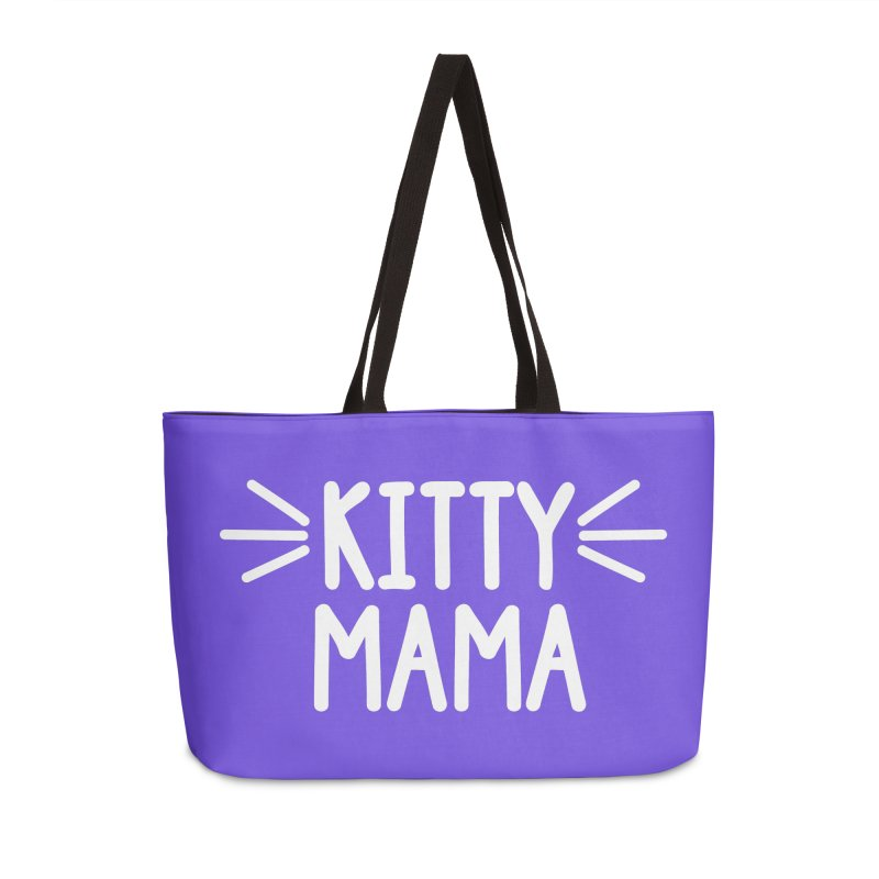 Kitty Mama Accessories Weekender Bag Bag by Maryland SPCA's Artist Shop