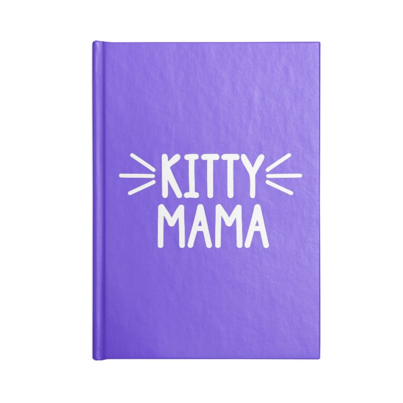 Kitty Mama Accessories Lined Journal Notebook by Maryland SPCA's Artist Shop