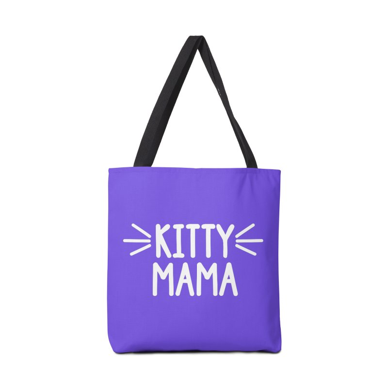 Kitty Mama Accessories Tote Bag Bag by Maryland SPCA's Artist Shop