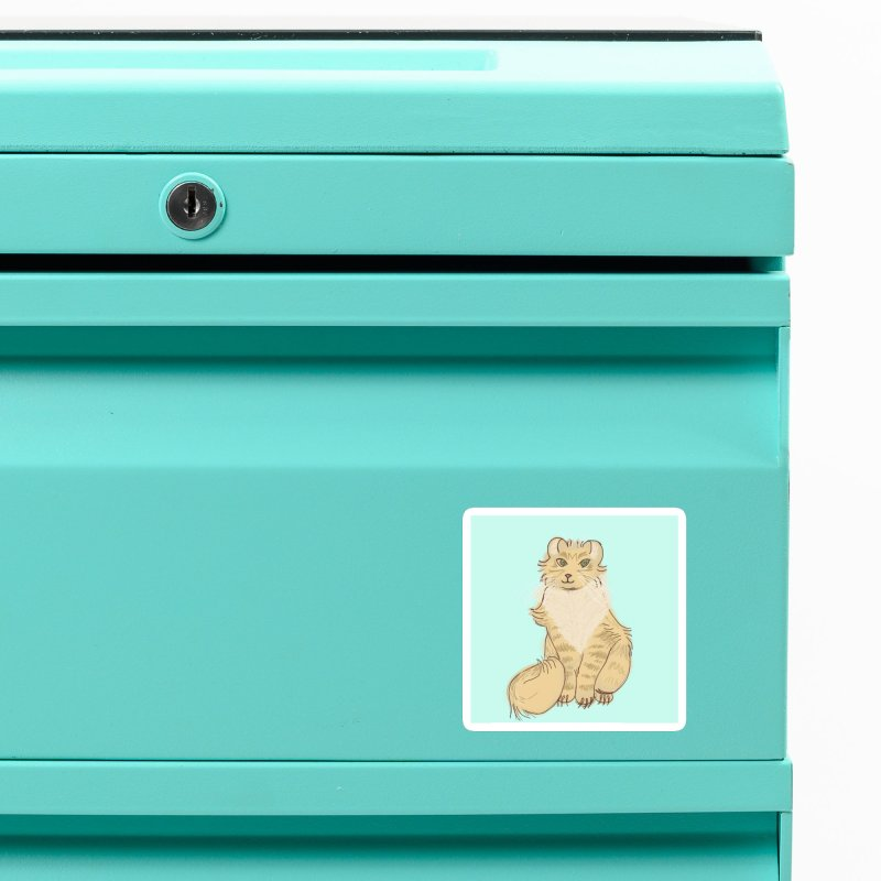 KFP Piper P. Accessories Magnet by Maryland SPCA's Artist Shop