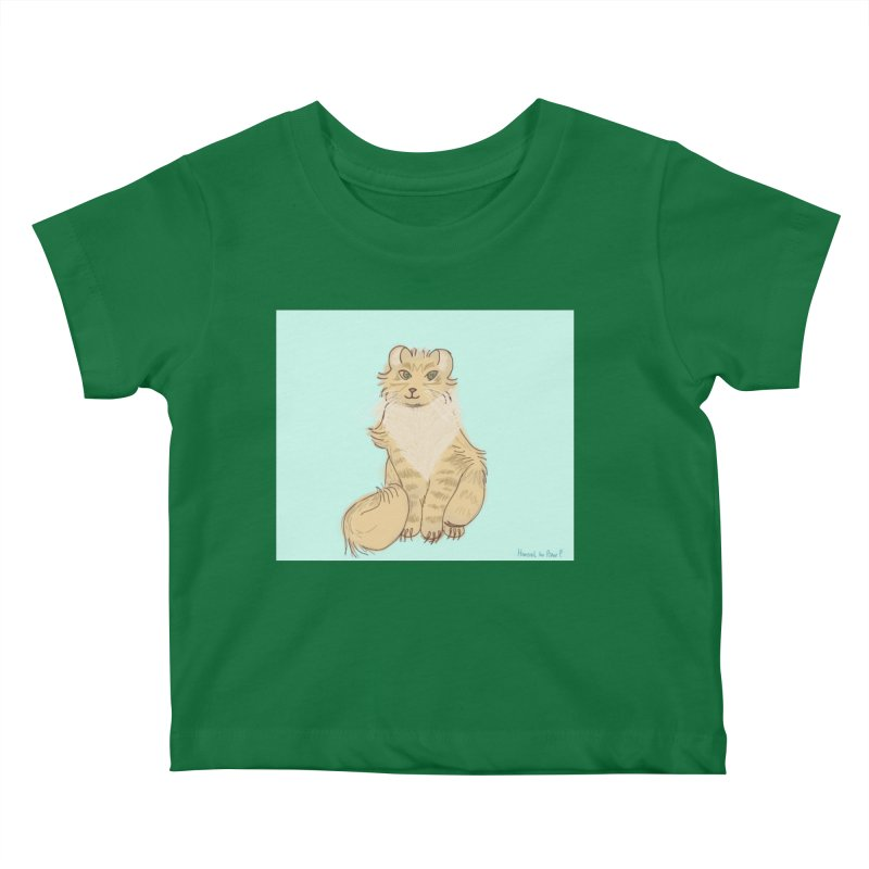 KFP Piper P. Kids Baby T-Shirt by Maryland SPCA's Artist Shop