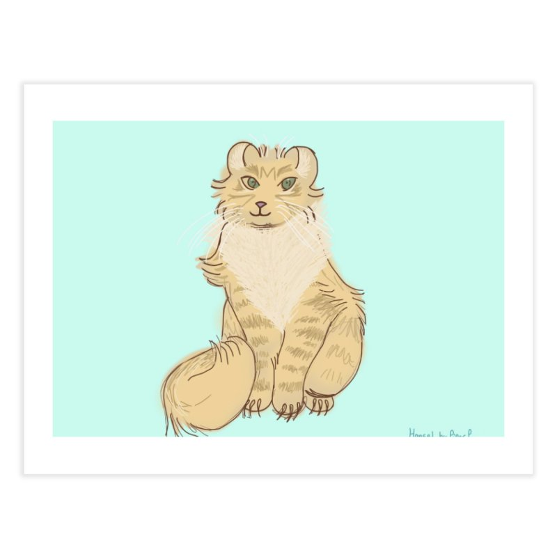 KFP Piper P. Home Fine Art Print by Maryland SPCA's Artist Shop