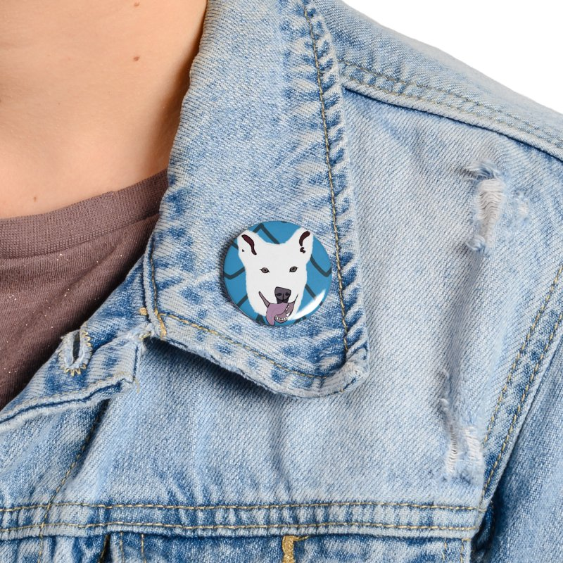 KFP Chloe S. Accessories Button by Maryland SPCA's Artist Shop