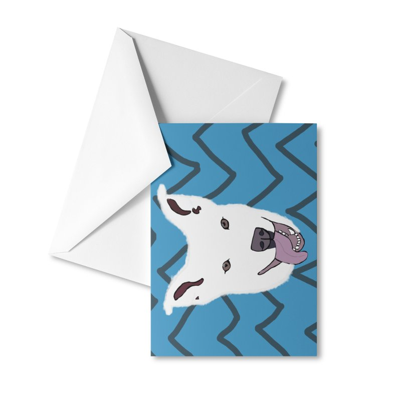 KFP Chloe S. Accessories Greeting Card by Maryland SPCA's Artist Shop