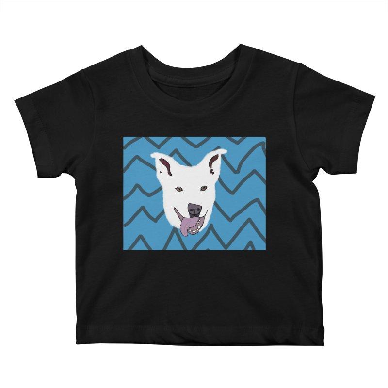 KFP Chloe S. Kids Baby T-Shirt by Maryland SPCA's Artist Shop
