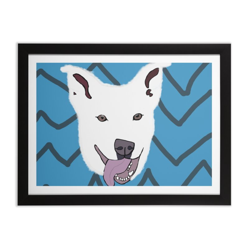 KFP Chloe S. Home Framed Fine Art Print by Maryland SPCA's Artist Shop