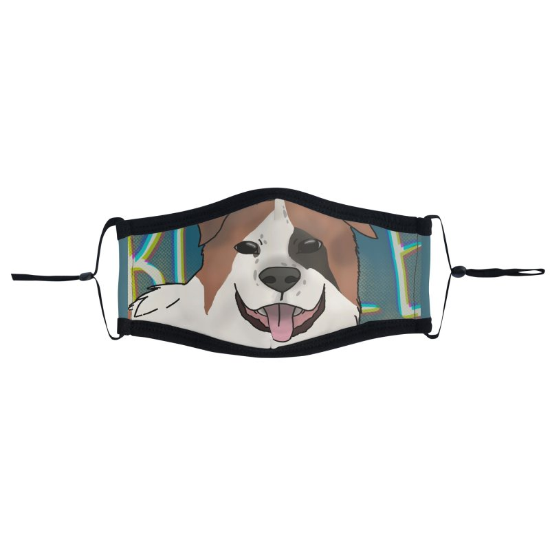 KFP Chloe B. Accessories Face Mask by Maryland SPCA's Artist Shop