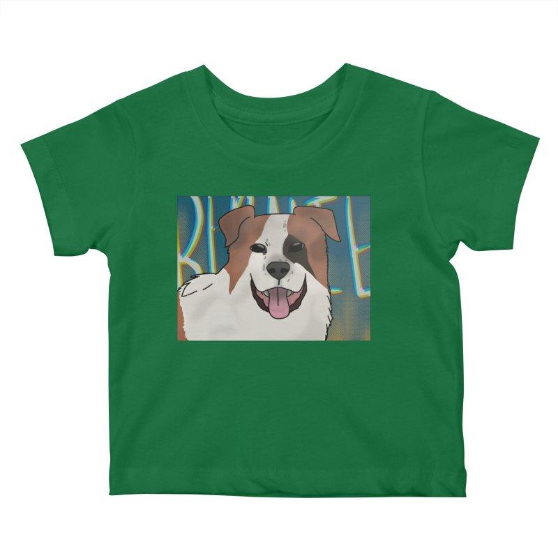 KFP Chloe B. Kids Baby T-Shirt by Maryland SPCA's Artist Shop
