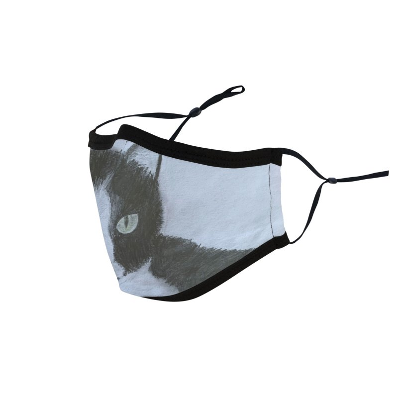 KFP Aidan F. Accessories Face Mask by Maryland SPCA's Artist Shop