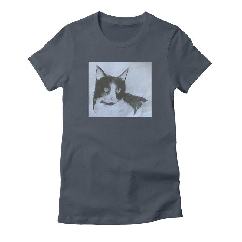 KFP Aidan F. Women's T-Shirt by Maryland SPCA's Artist Shop