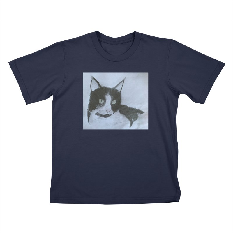 KFP Aidan F. Kids T-Shirt by Maryland SPCA's Artist Shop