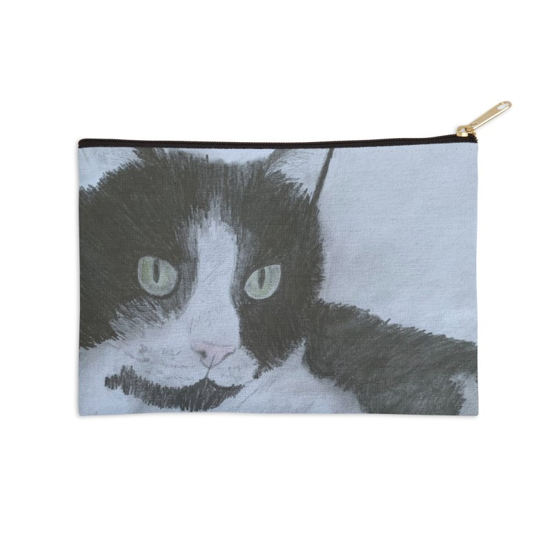 KFP Aidan F. Accessories Zip Pouch by Maryland SPCA's Artist Shop