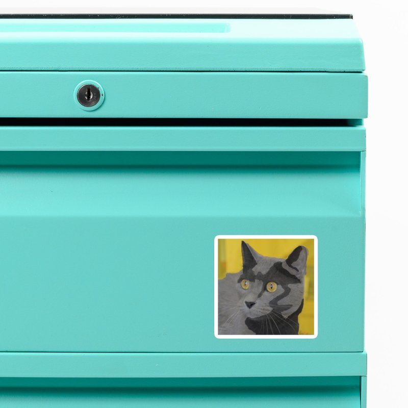 KFP Ariel F. Accessories Magnet by Maryland SPCA's Artist Shop