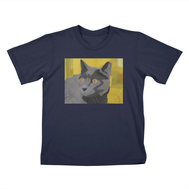 KFP Ariel F. Kids T-Shirt by Maryland SPCA's Artist Shop