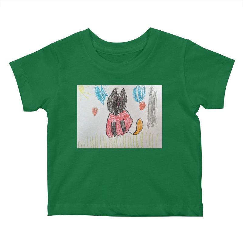 KFP Brook B. Kids Baby T-Shirt by Maryland SPCA's Artist Shop