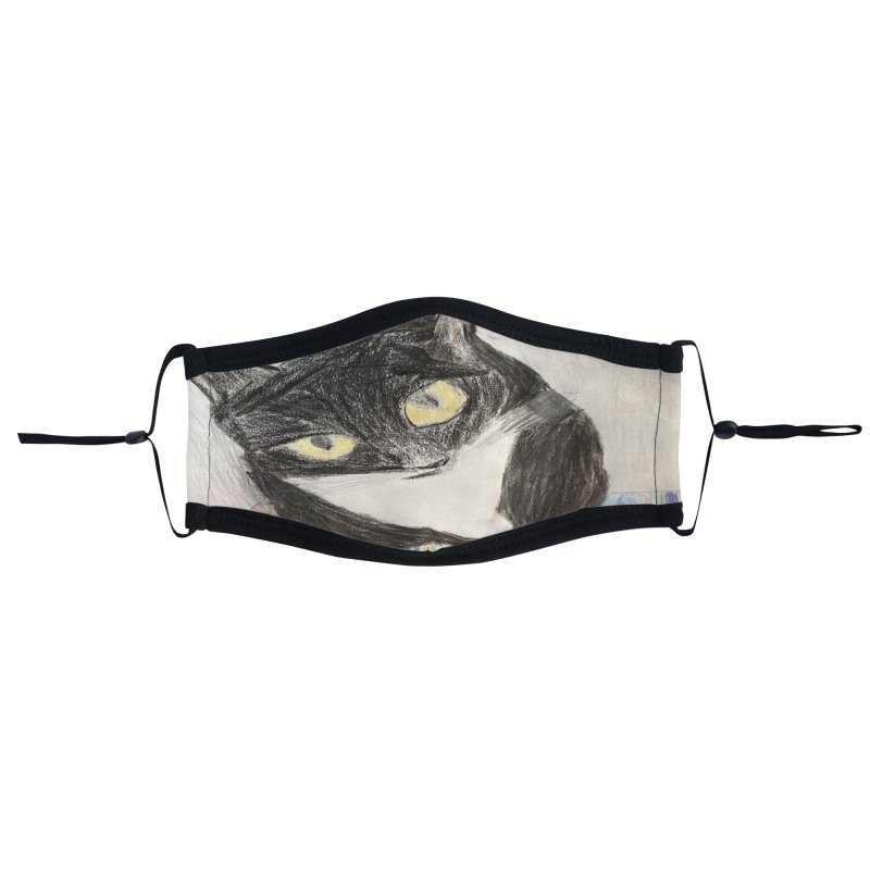 KFP Jaden C. Accessories Face Mask by Maryland SPCA's Artist Shop