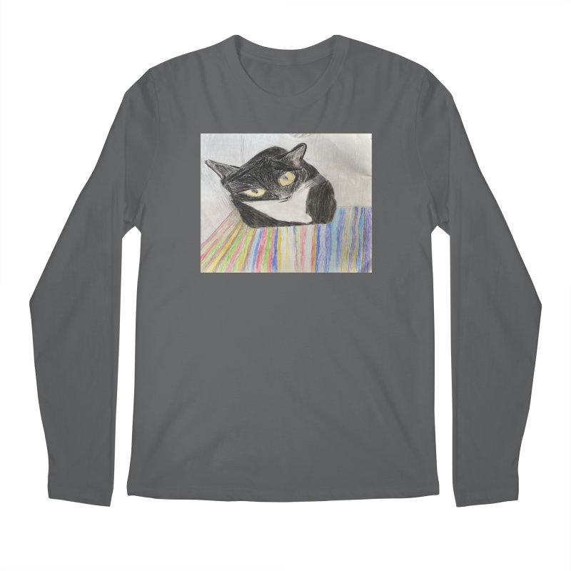 KFP Jaden C. Men's Longsleeve T-Shirt by Maryland SPCA's Artist Shop